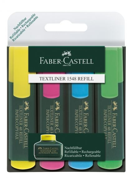 Текстмаркер Faber Castell 1546