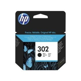 Консуматив HP 302 Standard Original Ink , черен